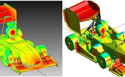 Projekt pakietu aerodynamicznego bolidu Formuły Student