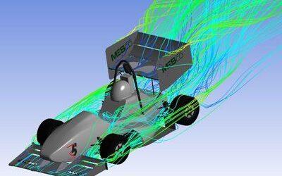 Optymalizacja aerodynamiczna bolidu Formuły Student