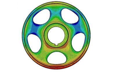 Analiza wytrzymałości zmęczeniowej prototypu przeciw-wibracyjnego koła pasowego