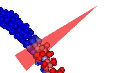 Skanowanie cząstek w procesie produkcyjnym w Rocky DEM