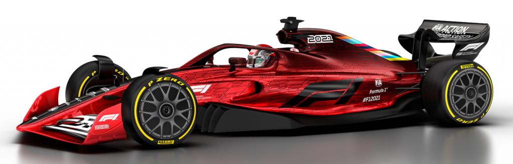 model CAD bolidu F1