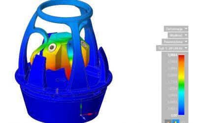 Wykorzystanie analizy modalnej w urządzeniach systemu SKYctrl