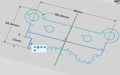 Webinarium: ANSYS SpaceClaim – wiązania w szkicowniku i drzewko historii