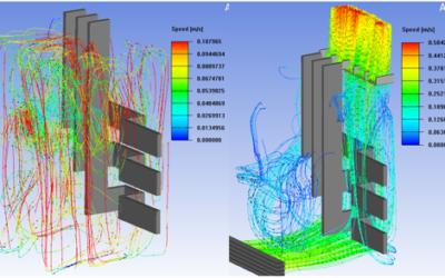 Analiza termiczna rozdzielnicy niskiego napięcia