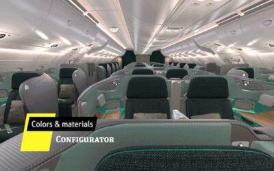 Projektowanie oświetlenia samolotów pasażerskich