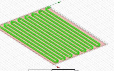 Projektowanie linii Blumleina w technologii PCB w ANSYS HFSS