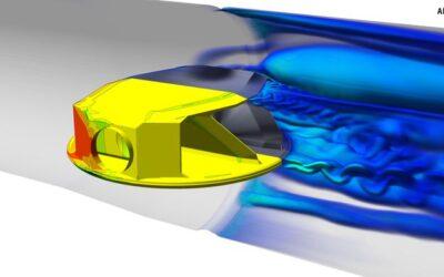 Uogólniona analiza aerotłumienia (FSI) w oprogramowaniu ANSYS CFD